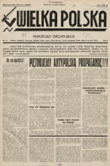 Wielka Polska : narodowy organ walki. 1935, nr001a