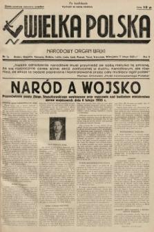 Wielka Polska : narodowy organ walki. 1935, nr007a