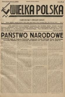 Wielka Polska : narodowy organ walki. 1935, nr8