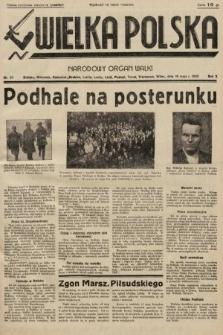 Wielka Polska : narodowy organ walki. 1935, nr20