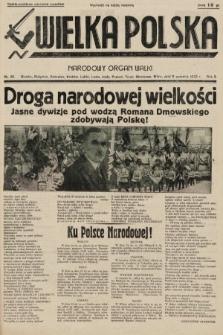 Wielka Polska : narodowy organ walki. 1935, nr36