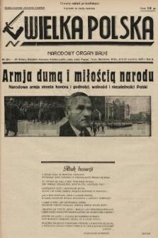 Wielka Polska : narodowy organ walki. 1935, nr38c/39 (nakład czwarty po konfiskacie)