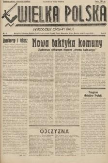 Wielka Polska : narodowy organ walki. 1936, nr19