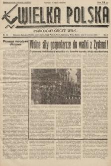 Wielka Polska : narodowy organ walki. 1936, nr33