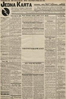 Jedna Karta : pierwszy w Polsce dziennik Narodowo-Socjalistyczny. 1933, nr20 (drugie wydanie po konfiskacie)