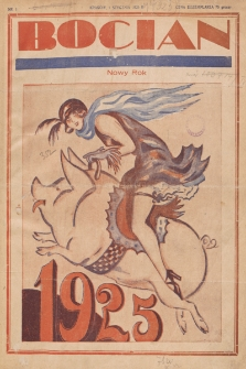 Bocian. 1925, nr1
