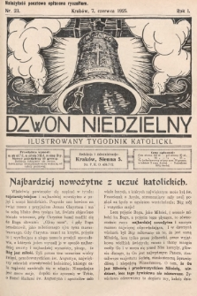 Dzwon Niedzielny : ilustrowany tygodnik katolicki. 1925, nr23