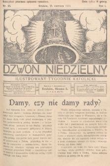 Dzwon Niedzielny : ilustrowany tygodnik katolicki. 1925, nr25