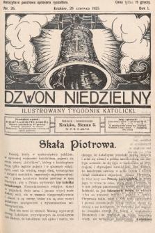 Dzwon Niedzielny : ilustrowany tygodnik katolicki. 1925, nr26