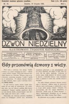 Dzwon Niedzielny : ilustrowany tygodnik katolicki. 1925, nr35