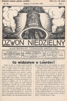 Dzwon Niedzielny : ilustrowany tygodnik katolicki. 1925, nr36