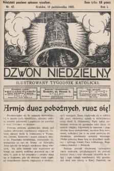 Dzwon Niedzielny : ilustrowany tygodnik katolicki. 1925, nr42