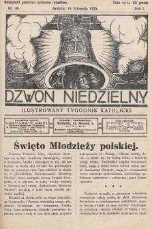 Dzwon Niedzielny : ilustrowany tygodnik katolicki. 1925, nr46