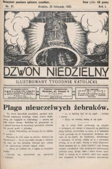 Dzwon Niedzielny : ilustrowany tygodnik katolicki. 1925, nr47