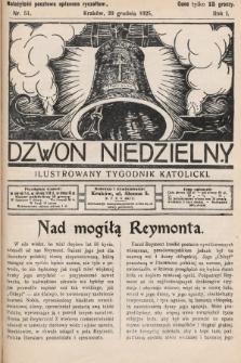 Dzwon Niedzielny : ilustrowany tygodnik katolicki. 1925, nr51