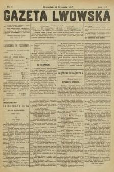 Gazeta Lwowska. 1917, nr7