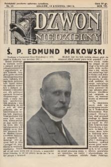 Dzwon Niedzielny. 1931, nr16