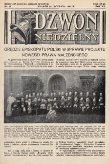 Dzwon Niedzielny. 1931, nr48