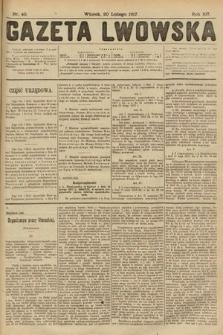 Gazeta Lwowska. 1917, nr40