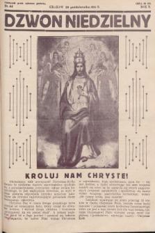 Dzwon Niedzielny. 1934, nr44