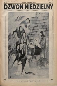 Dzwon Niedzielny. 1935, nr4