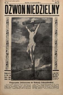 Dzwon Niedzielny. 1935, nr16