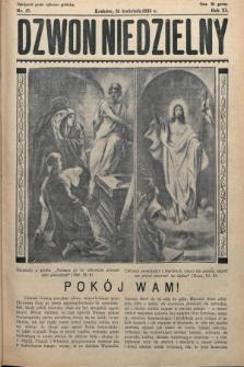 Dzwon Niedzielny. 1935, nr17