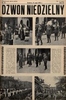 Dzwon Niedzielny. 1935, nr22