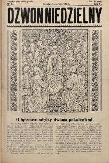Dzwon Niedzielny. 1935, nr24