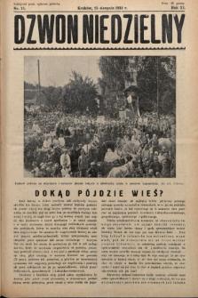 Dzwon Niedzielny. 1935, nr35