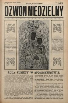 Dzwon Niedzielny. 1935, nr37