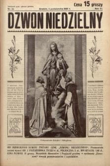Dzwon Niedzielny. 1935, nr41