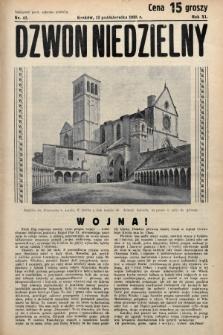 Dzwon Niedzielny. 1935, nr42