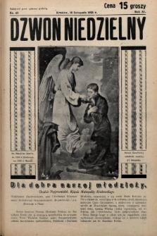 Dzwon Niedzielny. 1935, nr46