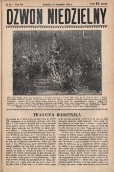 Dzwon Niedzielny. 1936, nr48