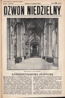 Dzwon Niedzielny. 1936, nr50