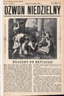 Dzwon Niedzielny. 1936, nr52