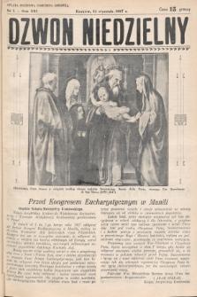 Dzwon Niedzielny. 1937, nr5