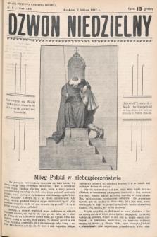 Dzwon Niedzielny. 1937, nr6