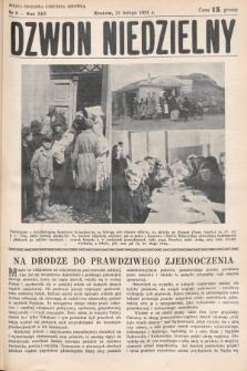 Dzwon Niedzielny. 1937, nr8