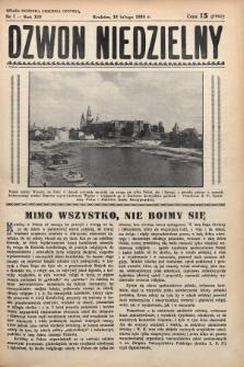 Dzwon Niedzielny. 1938, nr7