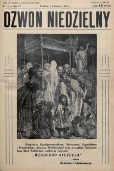 Dzwon Niedzielny. 1939, nr15