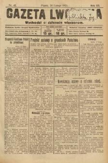 Gazeta Lwowska. 1925, nr42