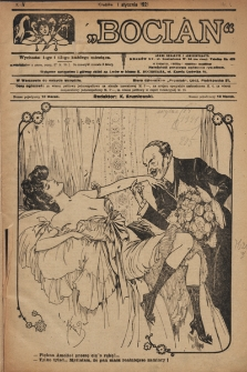 Bocian. 1921, nr1