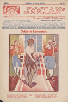 Bocian. 1924, nr5