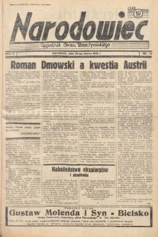 Narodowiec : tygodnik Obozu Wszechpolskiego. 1938, nr12