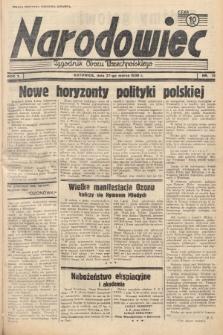 Narodowiec : tygodnik Obozu Wszechpolskiego. 1938, nr13