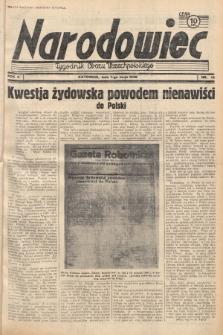 Narodowiec : tygodnik Obozu Wszechpolskiego. 1938, nr18