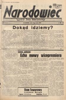 Narodowiec : tygodnik Obozu Wszechpolskiego. 1938, nr19