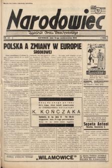 Narodowiec : tygodnik Obozu Wszechpolskiego. 1938, nr42